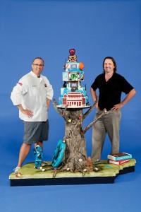 MTSU Centennial Cake