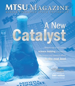 MTSU Magazine July 2012 - Cover