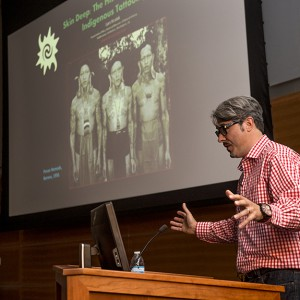 Lars Krutak Anthropology lecture on traditional tattoos.