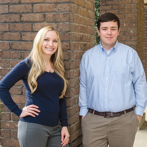 Young Alumni President's Samantha Powell and Casey Brown