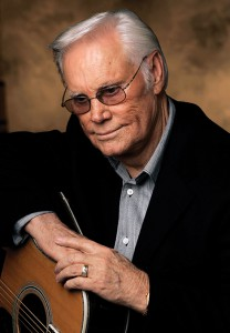 George Jones is shown in Nashville, Tenn., Jan. 10, 2007. At 75, Jones says he has a lot to look back on and a lot to celebrate, including a recent album with fellow country legend Merle Haggard. (AP Photo/Mark Humphrey)