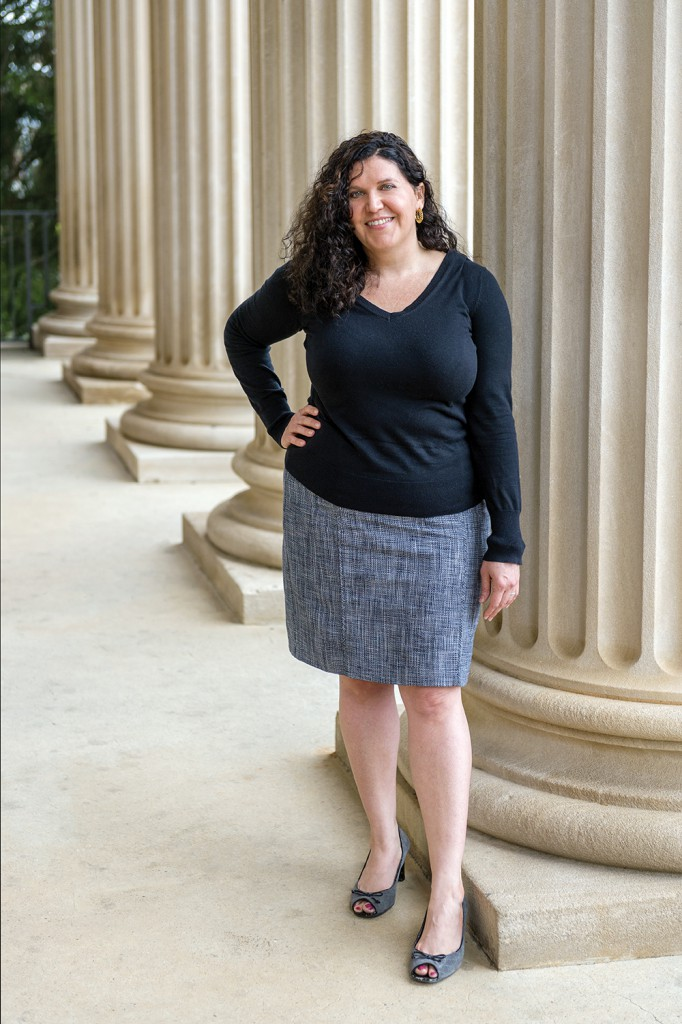Modern medieval masculinity researcher Dr. Amy Kaufman, an assistant professor of English
