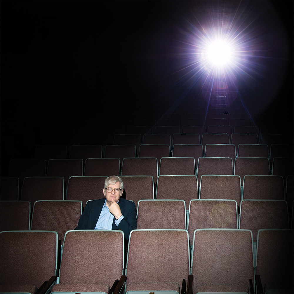 Richard Hansen, Theatre & Dance faculty, in the KUC Theatre for the Honors College Magazine.