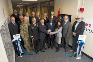 Opening of the Veterans and Military Family Center in the KUC.