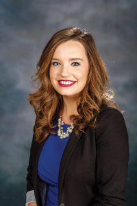 2015-16 SGA President Madison Tracy