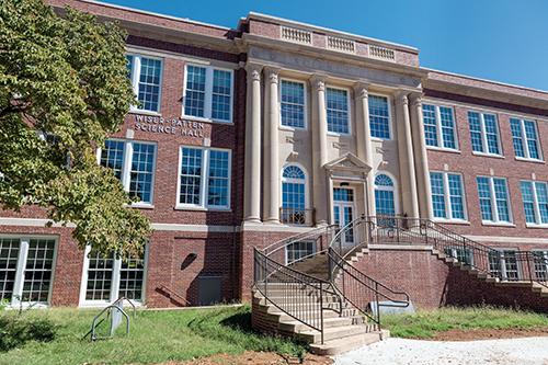 2016-09-45D Science Building Renovations